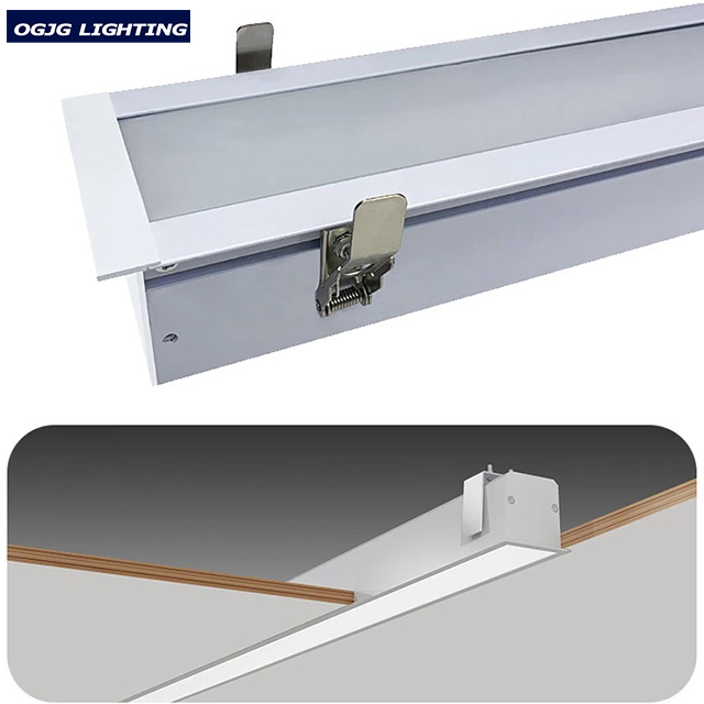 2ft 10W LED recessed light