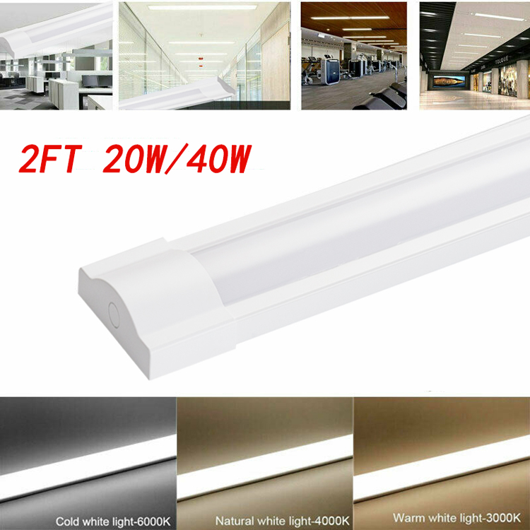 2ft 20W 40W emergency LED office light